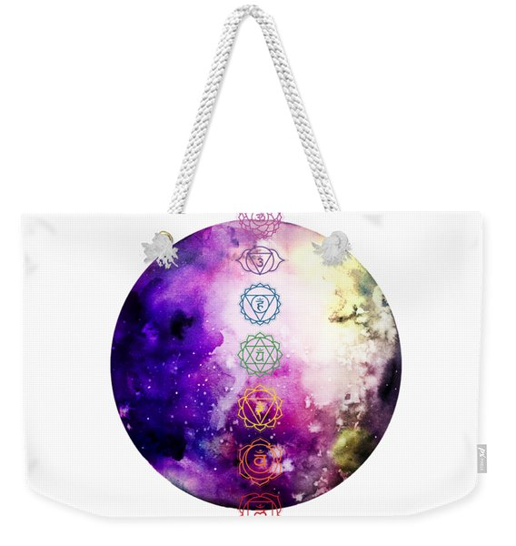 Reach Out To The Stars Weekender Tote Bag