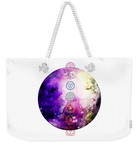 Weekender Tote Bag featuring the digital art Reach Out To The Stars by Bee-Bee Deigner