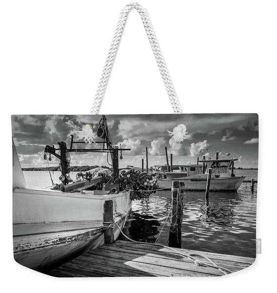 Ready To Go In Bw Weekender Tote Bag