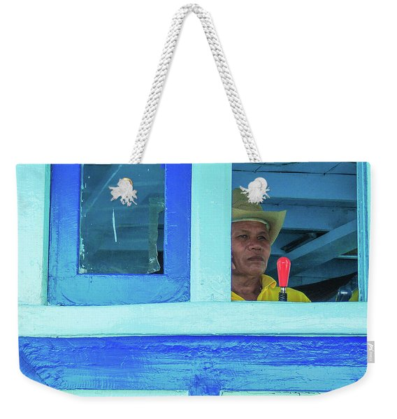 Ready To Go Into Warp Drive Weekender Tote Bag