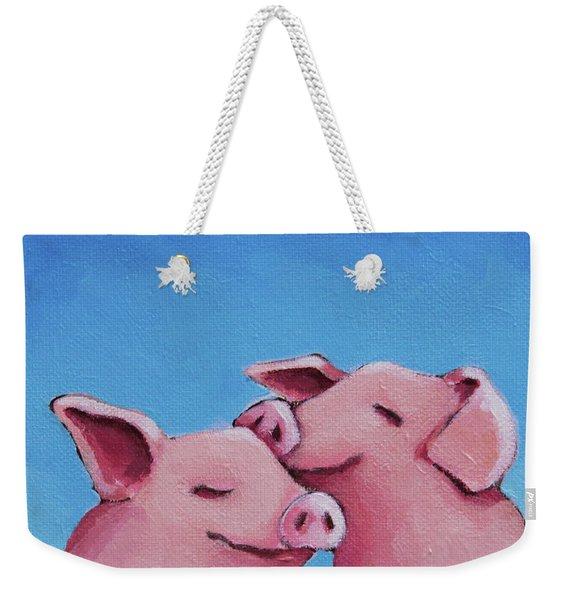 Real Friendships Weekender Tote Bag