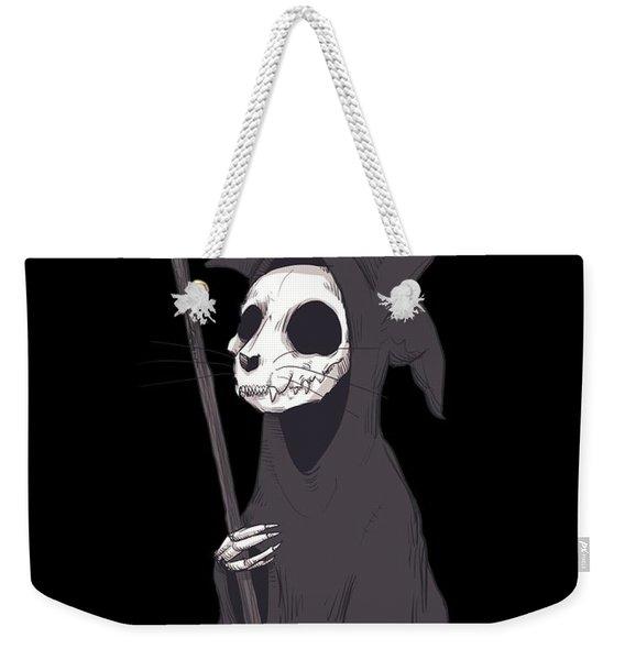 Reaper Cat Weekender Tote Bag