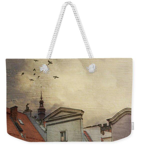 Rear Window Weekender Tote Bag