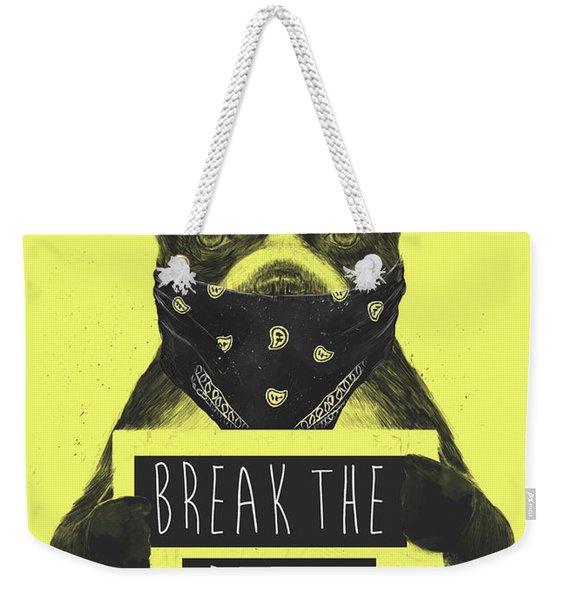 Rebel Dog II Weekender Tote Bag