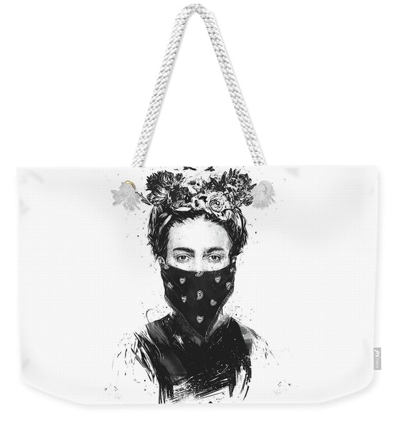 Rebel Girl Weekender Tote Bag