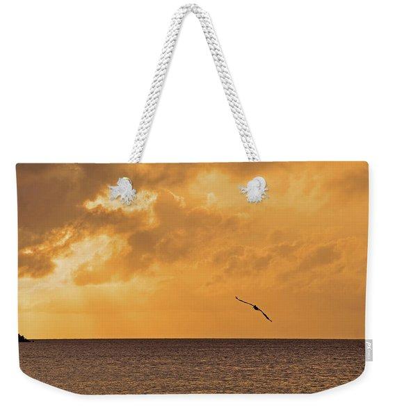 Reclining Day Weekender Tote Bag