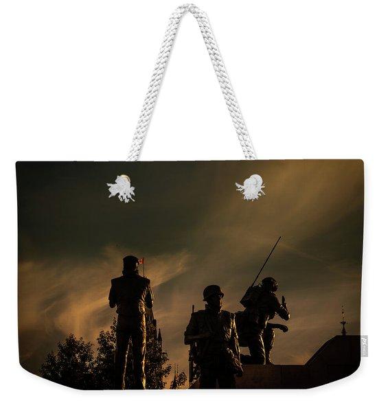 Reconciliation Weekender Tote Bag