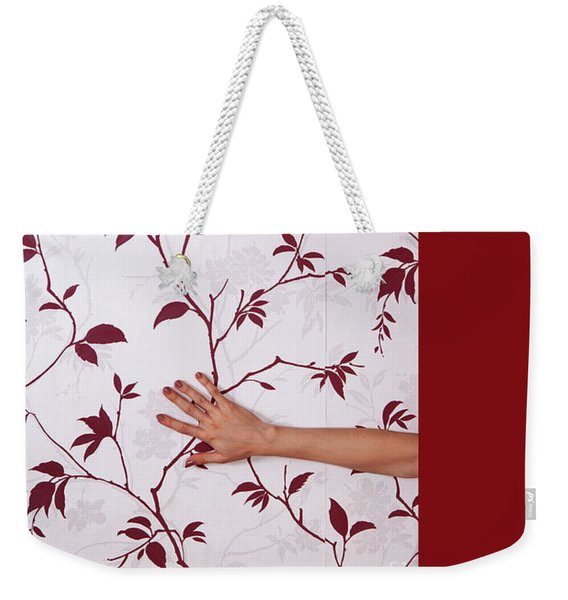 Red #0586 Weekender Tote Bag