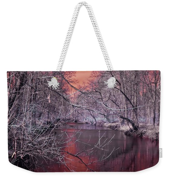 Red Creek Weekender Tote Bag