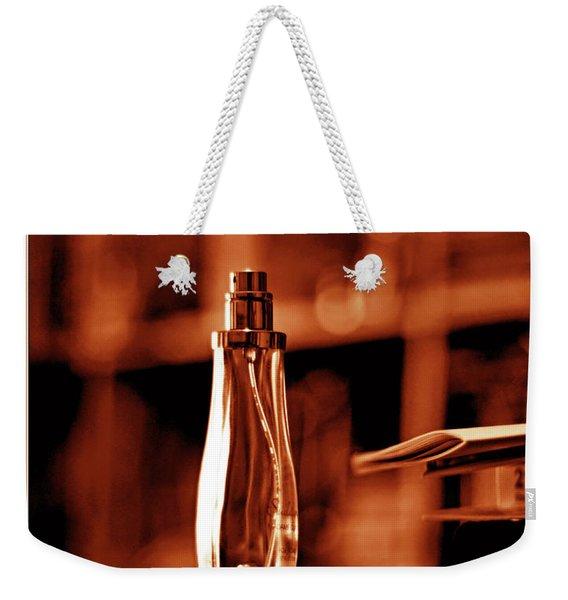 Red Definition Of Beauty Weekender Tote Bag