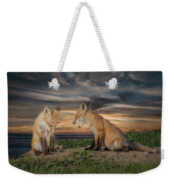 Red Fox Kits - Past Curfew Weekender Tote Bag