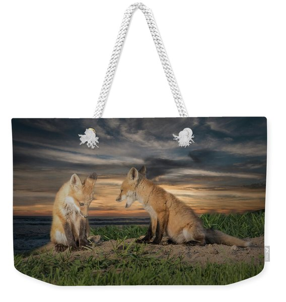 Red Fox Kits - Past Curfew Weekender Tote Bag
