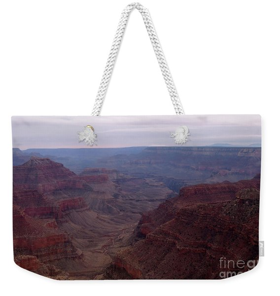 Red Grand Canyon Weekender Tote Bag