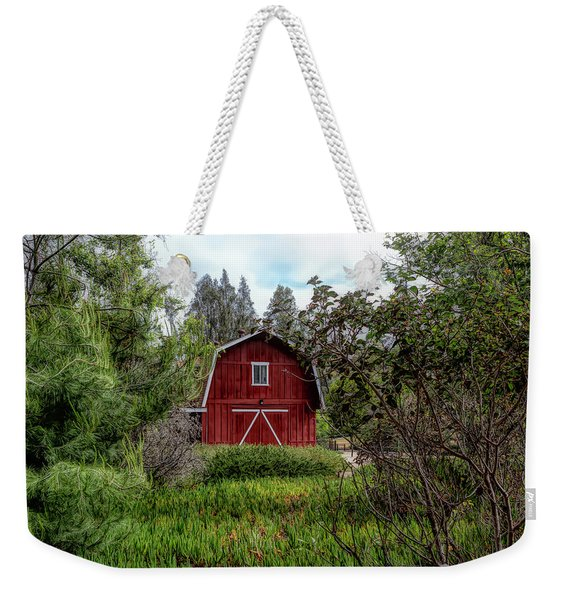 Red House Over Yonder Weekender Tote Bag