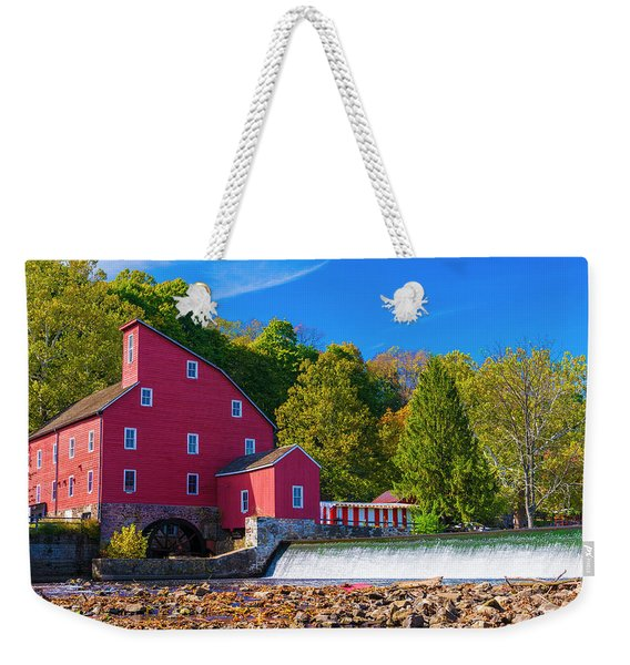 Red Mill Photograph Weekender Tote Bag