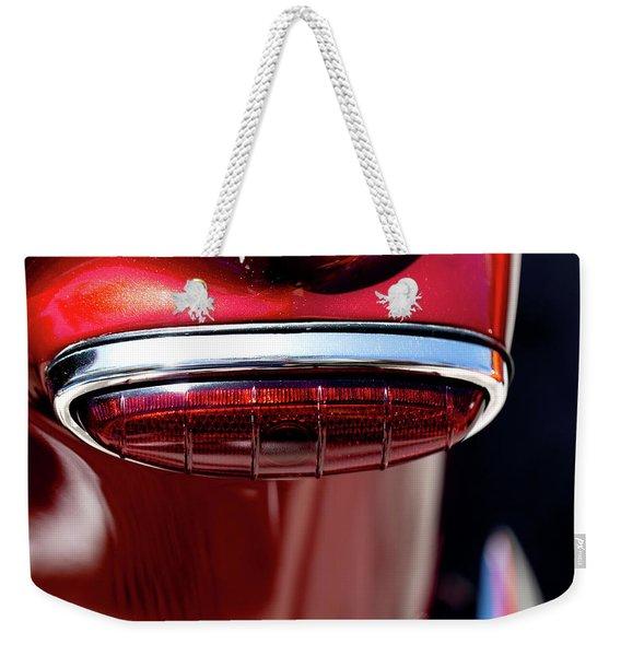 Red On Red Weekender Tote Bag
