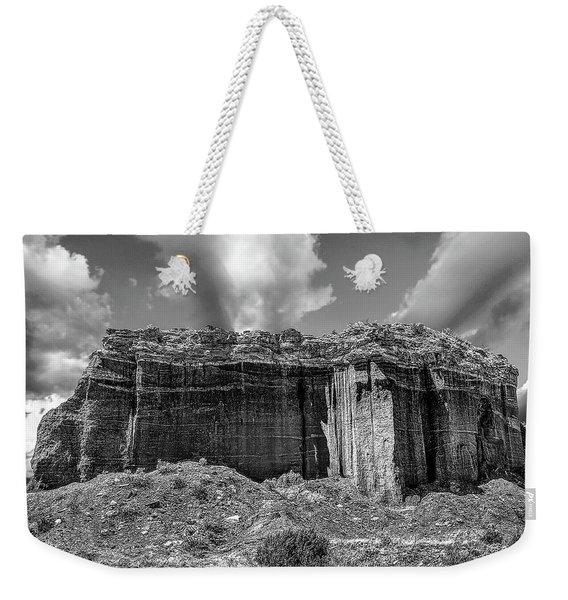 Red Rock Bw Weekender Tote Bag