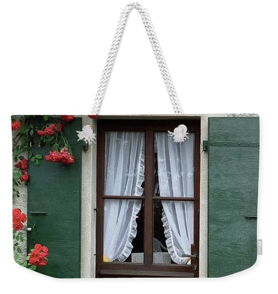 Red Rose Door Weekender Tote Bag
