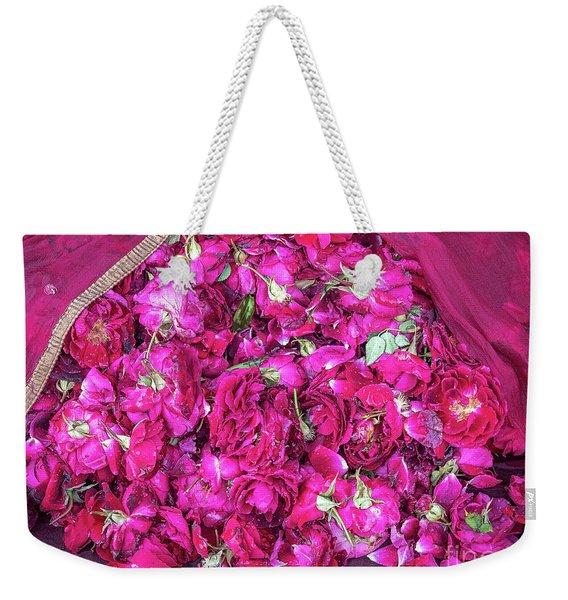 Red Roses Weekender Tote Bag