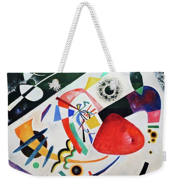 Red Spot II - Digital Remastered Edition Weekender Tote Bag