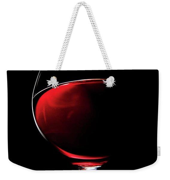 Red Wine Weekender Tote Bag