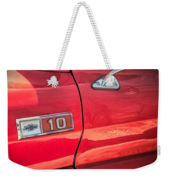 Reddddd Weekender Tote Bag