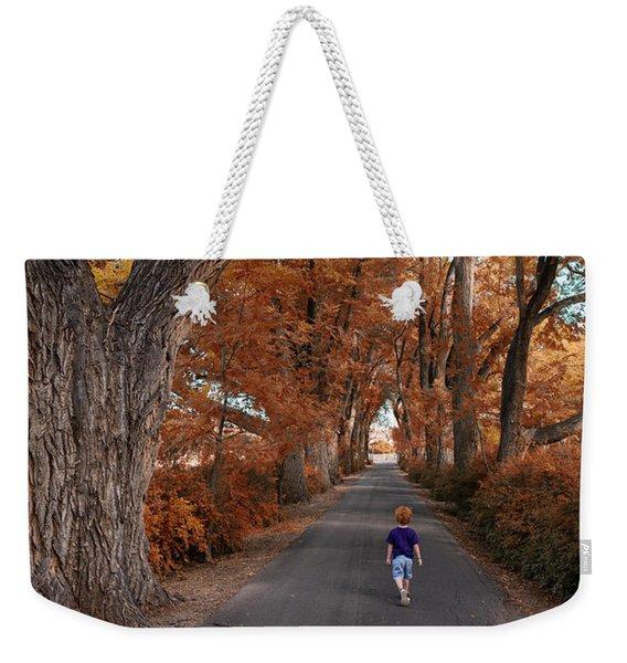 Redhead Fall Walkabout Weekender Tote Bag