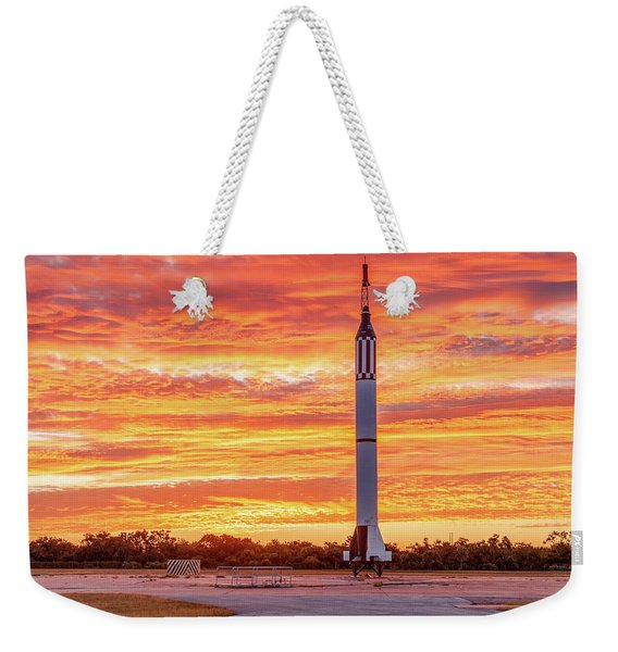 Redstone At Dawn Weekender Tote Bag