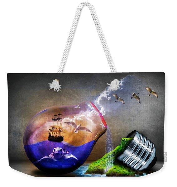 Reducing Power Weekender Tote Bag