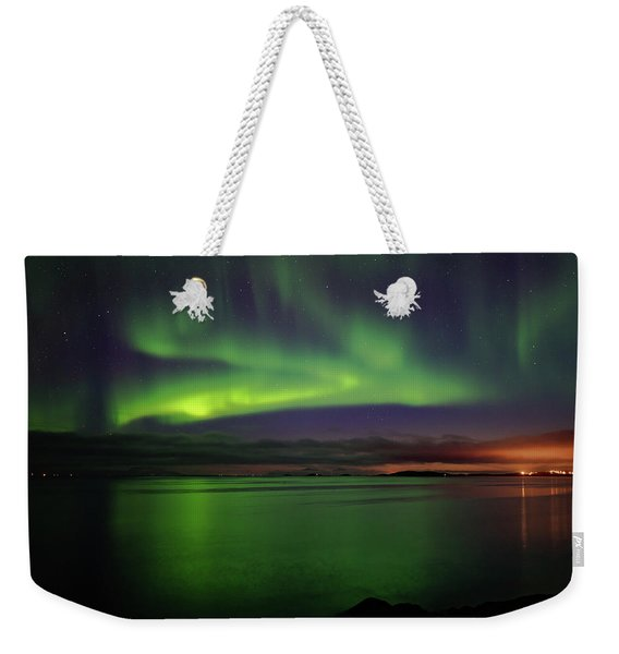 Reflected Aurora Weekender Tote Bag