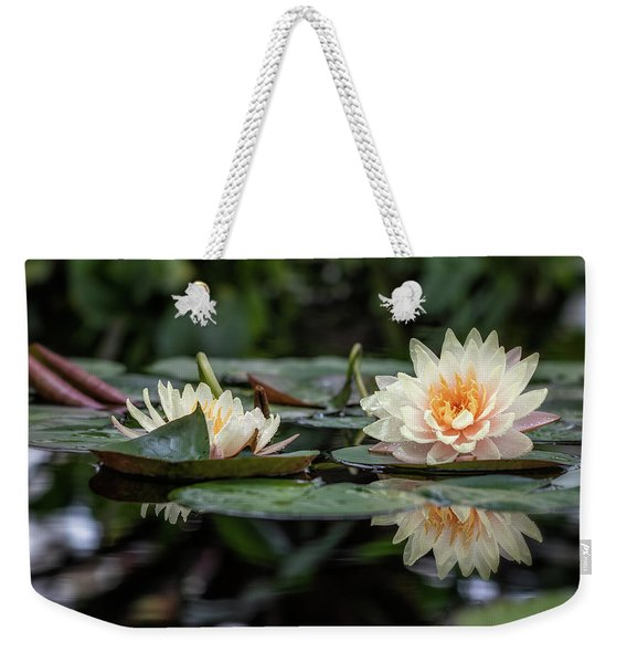 Delicate Reflections Weekender Tote Bag