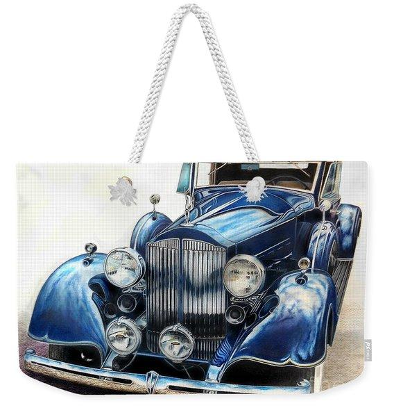 Reflection On Blue Weekender Tote Bag