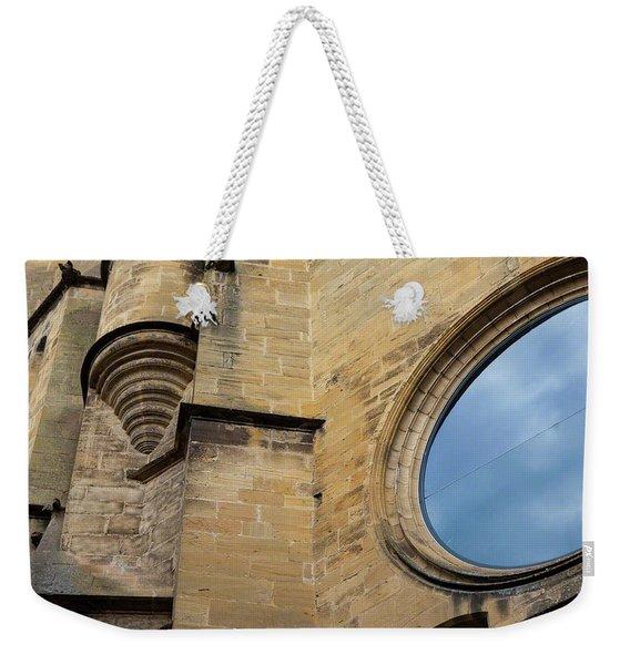Reflection, Sarlat, France Weekender Tote Bag
