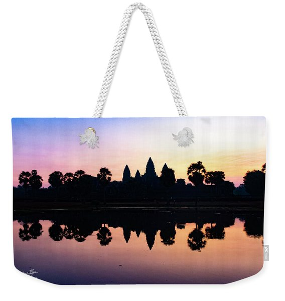 Reflections Of Angkor Wat - Siem Reap, Cambodia Weekender Tote Bag