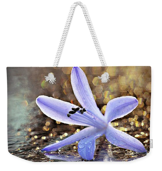 Weekender Tote Bag featuring the photograph Reflections Of Joy by Michelle Wermuth