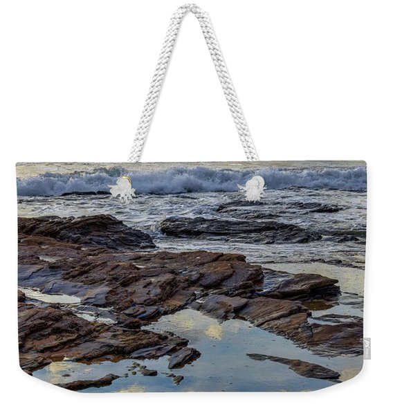 Reflections On The Rocks Weekender Tote Bag