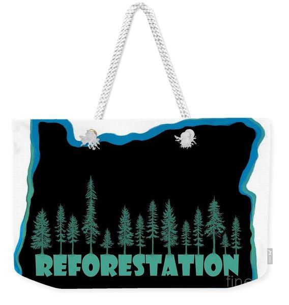 Reforestation Weekender Tote Bag