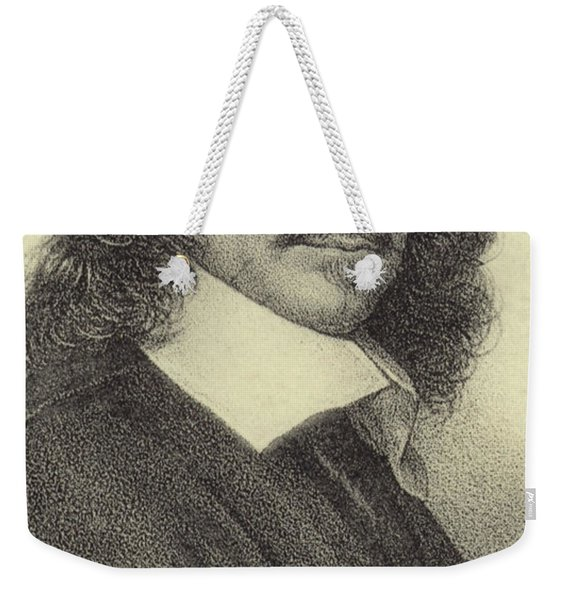 Rene Descartes, French Philosopher, Mathematician And Writer Weekender Tote Bag