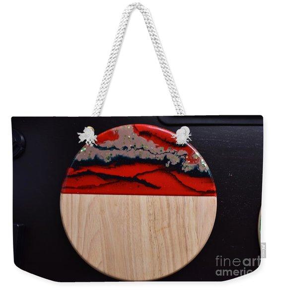 Resin-cutting Board 15 Weekender Tote Bag
