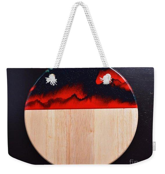 Resin-cutting Board 17 Weekender Tote Bag