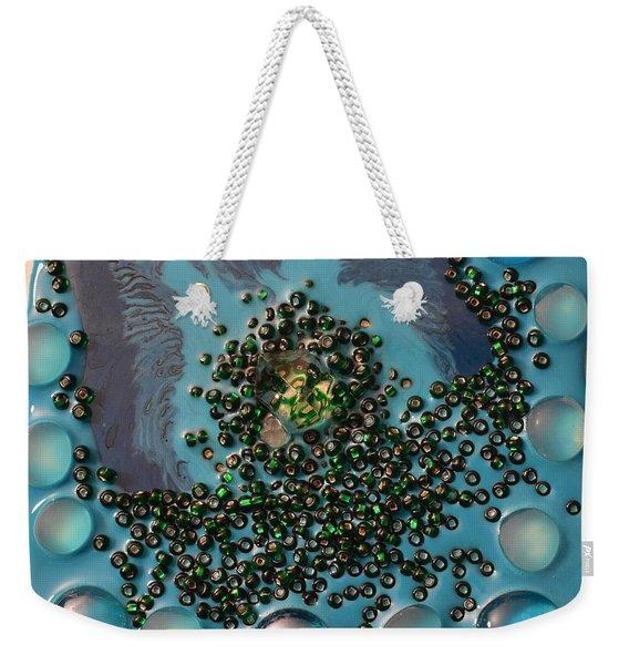 Resin-on Canvas 46 Weekender Tote Bag