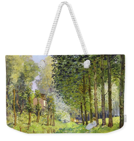 Rest Along The Stream - Digital Remastered Edition Weekender Tote Bag