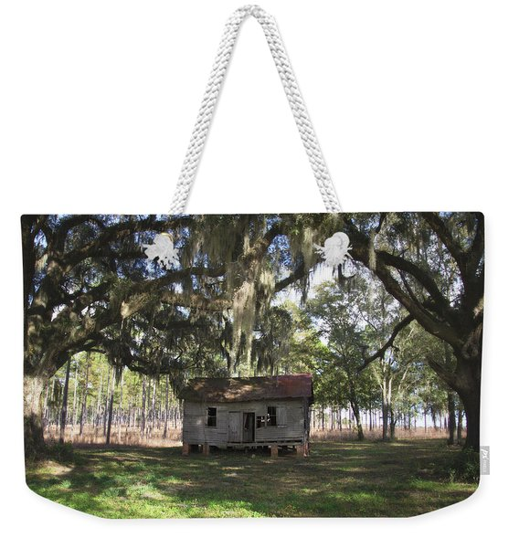 Resting Under The Big Shade Trees Weekender Tote Bag