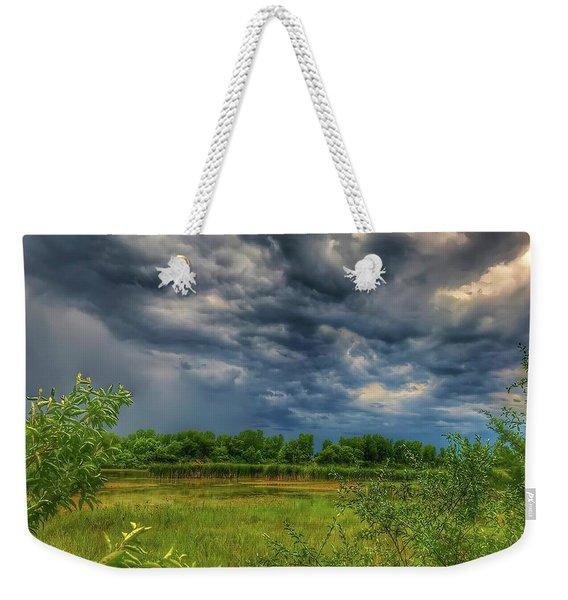 Restless Sky Weekender Tote Bag