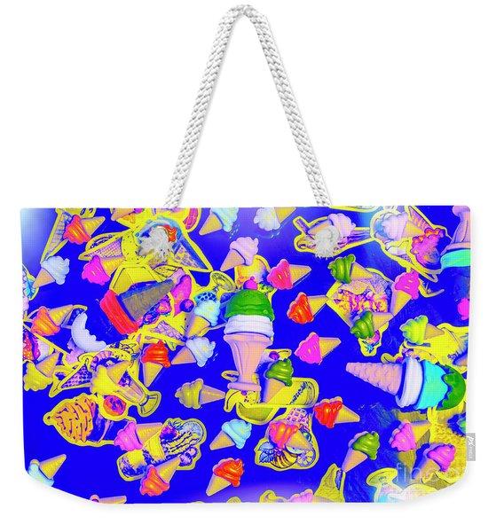 Retro Flavours Weekender Tote Bag