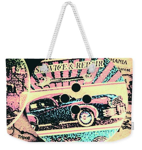 Retro Roadvival Weekender Tote Bag