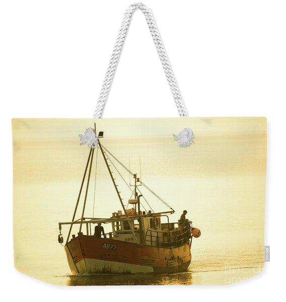 Returning To Harbour Weekender Tote Bag