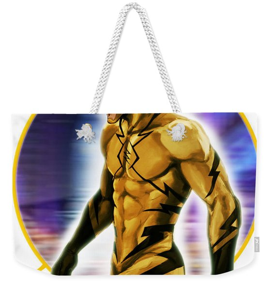 Reverse Flash Weekender Tote Bag