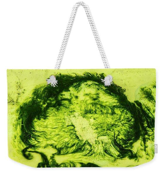 Rhapsody In Green Weekender Tote Bag
