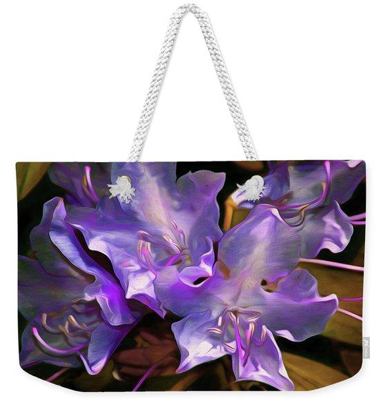 Rhododendron Glory 17 Weekender Tote Bag